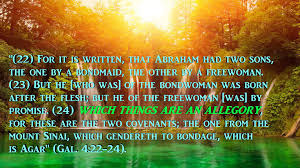 1 understanding bible allegory