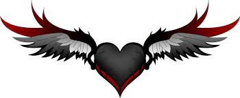 Hearts With Wings - with wings by lawl is dead on deviantart
