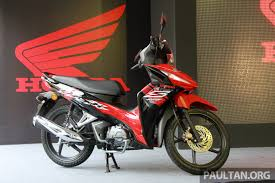 future honda motorcycles 2017 honda wave dash fi launched from rm5 860