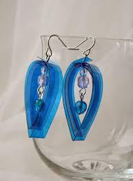 plastic bottle earrings 591 best plastic bottle crafts images on jewelry