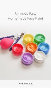 homemade face paints popsugar smart living