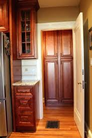 hickory kitchen cabinets home depot natural closeout for sale