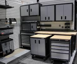 Gladiator Garage Cabinets Gladiator 54piece Light Gray Composite Storage Rail System