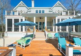 Pool Patios And Porches 27 Extensive Multi Level Decks For Entertaining Large Parties