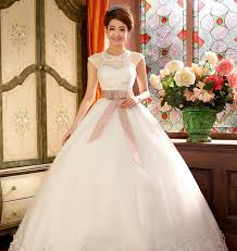 wedding dress korea 2014 new arriving korea style wedding dress high quality