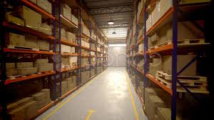 Warehouse Interior Warehouse Interior Boxes Logistics Industry Factory Cargo Goods