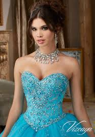 beading on a tulle quinceañera dress style 89109 morilee