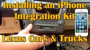 2006 lexus gs430 dvd player how to install iphone integration kit vais on lexus cars