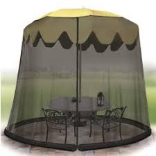 Patio Umbrella With Screen Enclosure Umbrella Table Screen Enclosure
