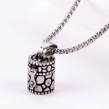 ashes necklace holder wholesale openable ashes box pendant urn chain vintage