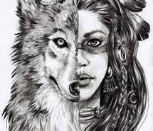 list of synonyms and antonyms of the word indian wolf drawings