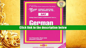 free download german sat subject test series passbooks