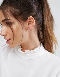ear cuffs aldo aldo ear cuff freisa de dorado mujer bisutería 8555359 mujer