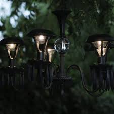 Gazebo Solar Chandelier Light Up Your Garden With This Diy Solar Chandelier Solar