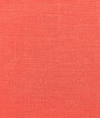 coral irish linen fabric possible fabric for window seat with