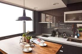 modern industrial kitchens kitchen room modern industrial kitchen design open shelves modern