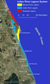 Florida Atlantic Coast Map by Irlo Research Florida Atlantic University Harbor Branch