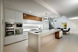 kitchen design ideas australia state of the kitchen in white with beautiful lighting decoist