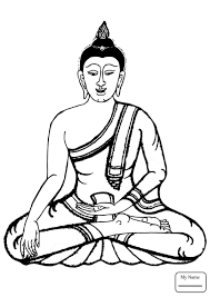 Coloring Pages For Kids Countries Cultures Buddha Abcfunkids Me Buddhist Coloring Pages