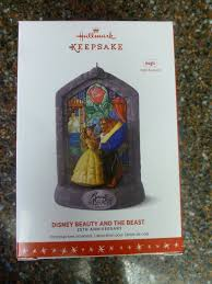 2016 hallmark disney and the beast 25th anniversary