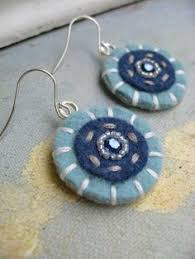 felt earrings easy craft crafty felt projects ali orecchini e