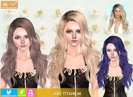 sims 3 custom content hair objnoora newsea sims3 hair j183 titanium