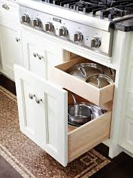 Kitchen Drawer Storage Ideas Cabinets U0026 Storages Stunning White Stained Wooden Drawer Sppecial