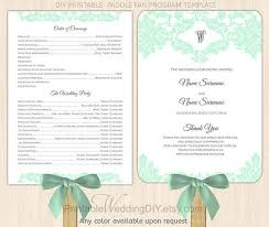 wedding program paddle fan template 29 images of paddle fan program template adornpixels