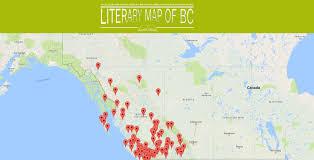 Map Of Bc December 2016 What Are You Reading