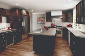 High Quality Kitchen Cabinets Cyprus Chocolate Pear Dark Cabinets Are Great For Large And Open