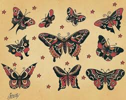 sailor jerry butterflies sailor jerry studio and