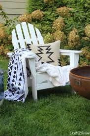 Fall Outdoor Pillows by My Cozy Fall Backyard Reveal Kelly Elko