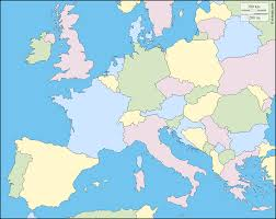 Blank Map Of Europe by Western And Central Europe Free Map Free Blank Map Free Outline