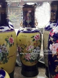 Large Chinese Vases Special Chinese Ceramic Large Floor Standing Vases For Retail And