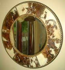 western style bathroom mirrors fancy western round mirror in