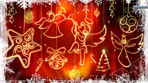 for christmas decorated wall for christmas day wallpaper