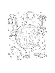 eve coloring pages kids sheets great creation page image