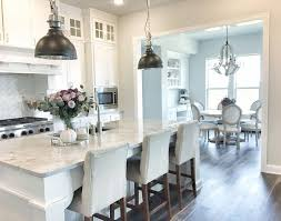 Pinterest Kitchen Cabinets Painted White Cabinet Paint Color Is Sherwin Williams Pure White Light