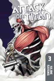 attack on titan attack on titan 3 kodansha comics