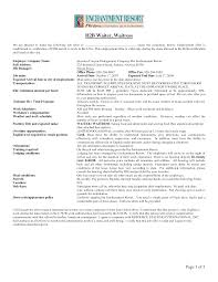 Resume Waiter Resume Help Waitress