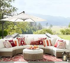 Sectional Pottery Barn Build Your Own Outdoor Sectional Pottery Barn