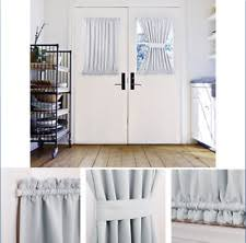 Half Door Curtain Panel French Door Curtains Ebay