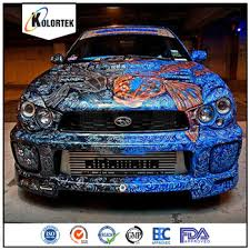 thermochromatic pigment for auto paint color change by temperature