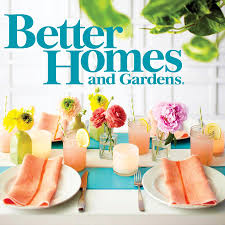1920s usa better homes and gardens magazine cover stock photo with