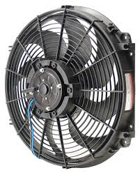 electric radiator fans amazon com derale 16516 16 tornado electric fan premium kit