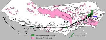 san bernardino ca map aerial view of san andreas fault and san bernardino mountains