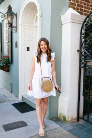 the perfect white dress for summer sequins u0026 stripes