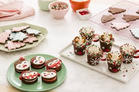Plate Decorating Ideas For Desserts Delicious Chocolate Cookie Recipe For The Holidays Brit Co