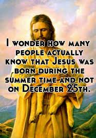 i how many actually that jesus was born during