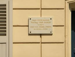House Plate File Commemoration Plate On The House Where Van Gogh And His